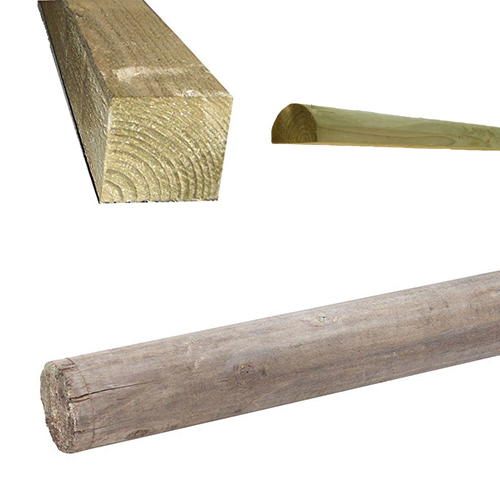 Pressure Treated Timber Posts